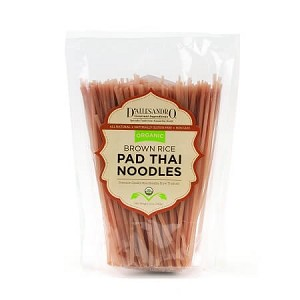 Pad Thai Noodles, Organic Brown Rice - 12 oz