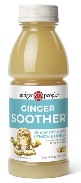 Ginger Soother - 12 oz <span style='padding-left:.5em;float:center;color:red;'>*NEW*</span>