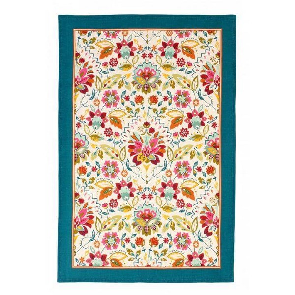 Tea Towel Linen Bountiful Floral <span style='padding-left:.5em;float:center;color:red;'>*NEW*</span>