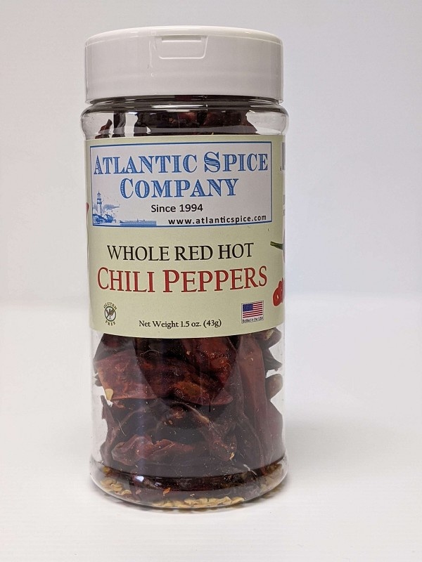 Chili Peppers Whole Red - 1.5 oz Jar