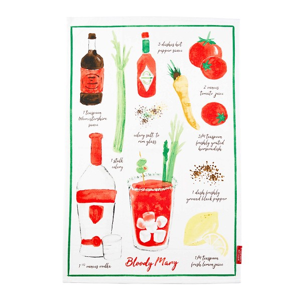 Tea Towel Bloody Mary <span style='padding-left:.5em;float:center;color:red;'>*NEW*</span>