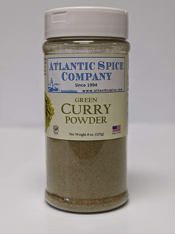 Curry Powder Green - 8 oz Jar