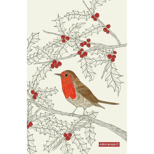 Tea Towel Cotton Robin <span style='padding-left:.5em;float:center;color:red;'>*NEW*</span>